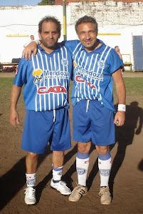 Masche y Dani amigos desde chicos y dupla en Godoy Cruz