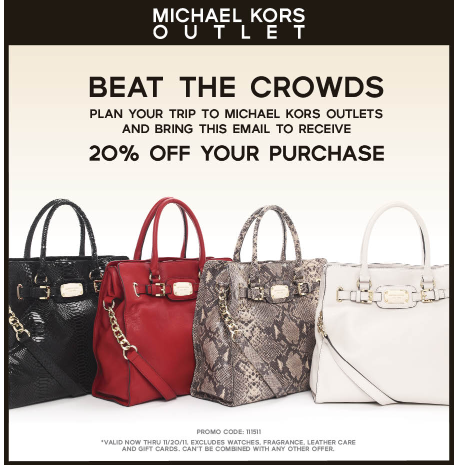 Michael kors coupon codes