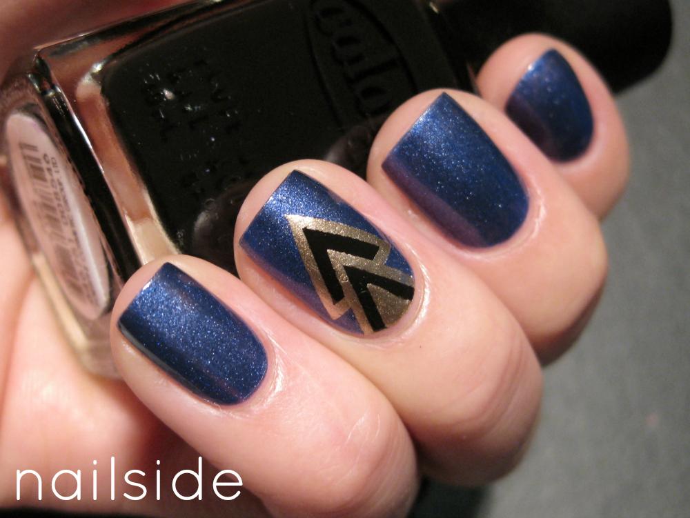 Nailside double v double v prinsesfo Choice Image