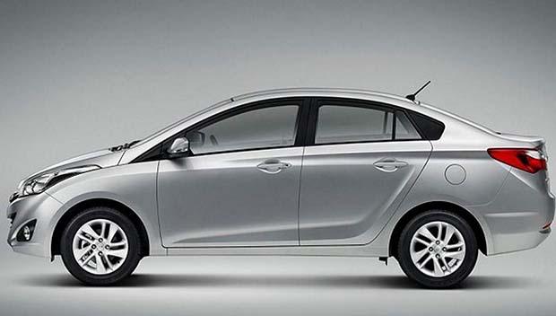 novo Hyundai HB20 Sedan 2014 lateral