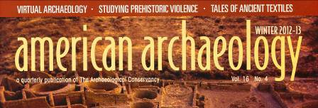 Archaeological Conservancy Magazine Archaeological Conservancy