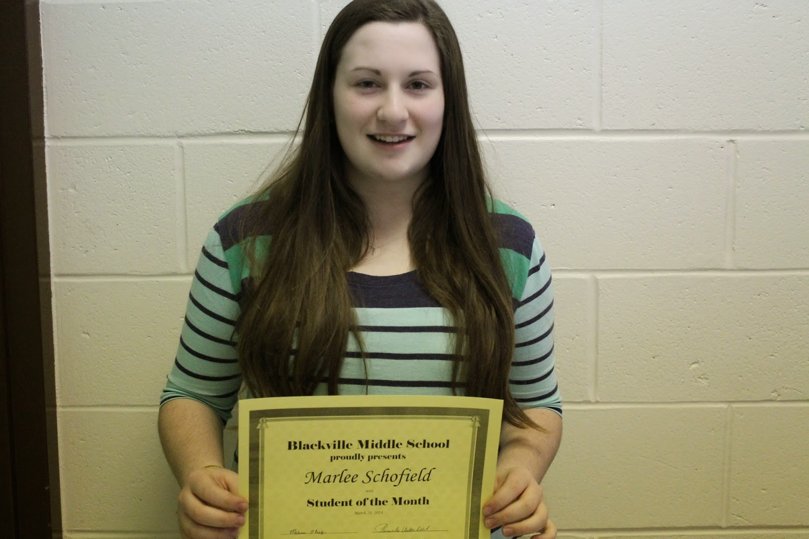 Cleaning ladies mrs overall on the graham norton show this week and - Student Of The Month For Mrs O Keefe S Homeroom Class Is Marlee Schofield Marlee Is Hard Working Especially Kind And Helpful Thoughtful Shows