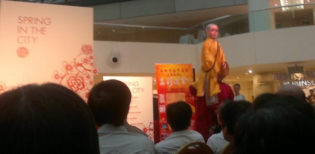 Rugao Puppet Show, Raffles City, Singapore