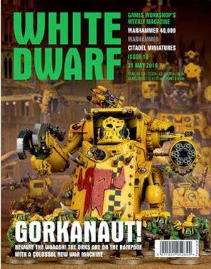 White Dwarf Weekly número 18 de mayo