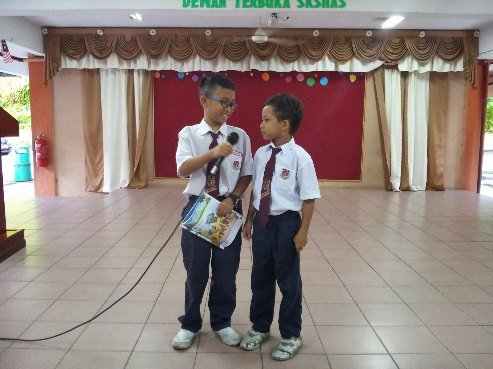 Sk Sultan Hisamuddin Alam Shah English Day Programme