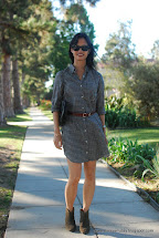 Ankle Boots with Dress Shirt