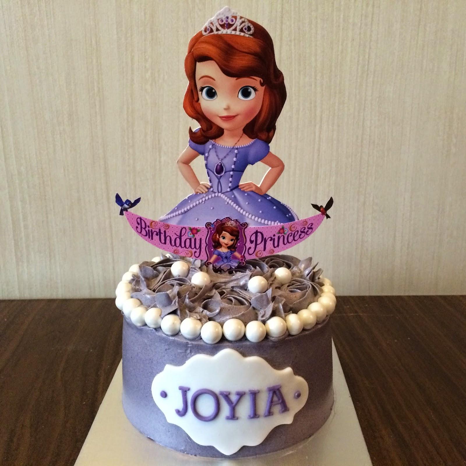 Sofia The First Cake Crissas Cake Corner