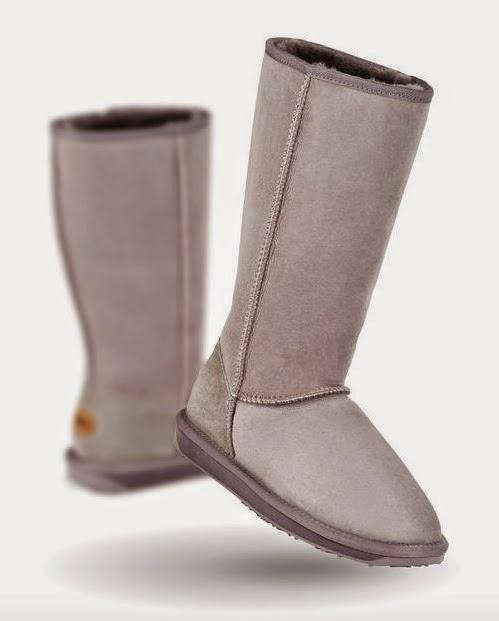 VipandSmart EmuAustralia botas altas ceniza