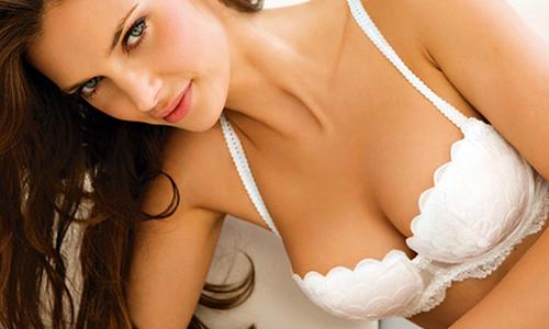 sexy white bra