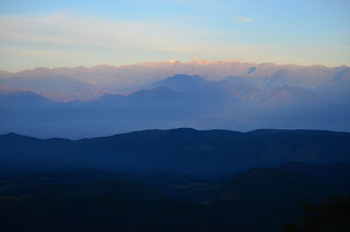 Amanece sobre la Sierra Nevada. Foto: Jorge Bela