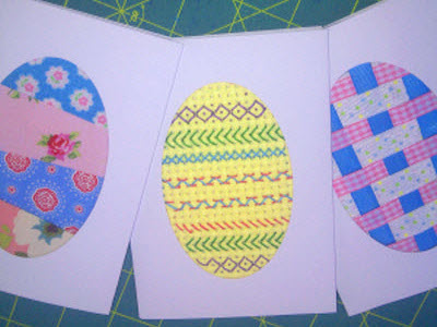 Hope Gloria Stitched Woven and Sewn Easter CardMaking Ideas – Easter Cards for Children