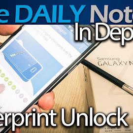 Galaxy Note 4 In Depth Part 1: Fingerprint Scanner & Unlock