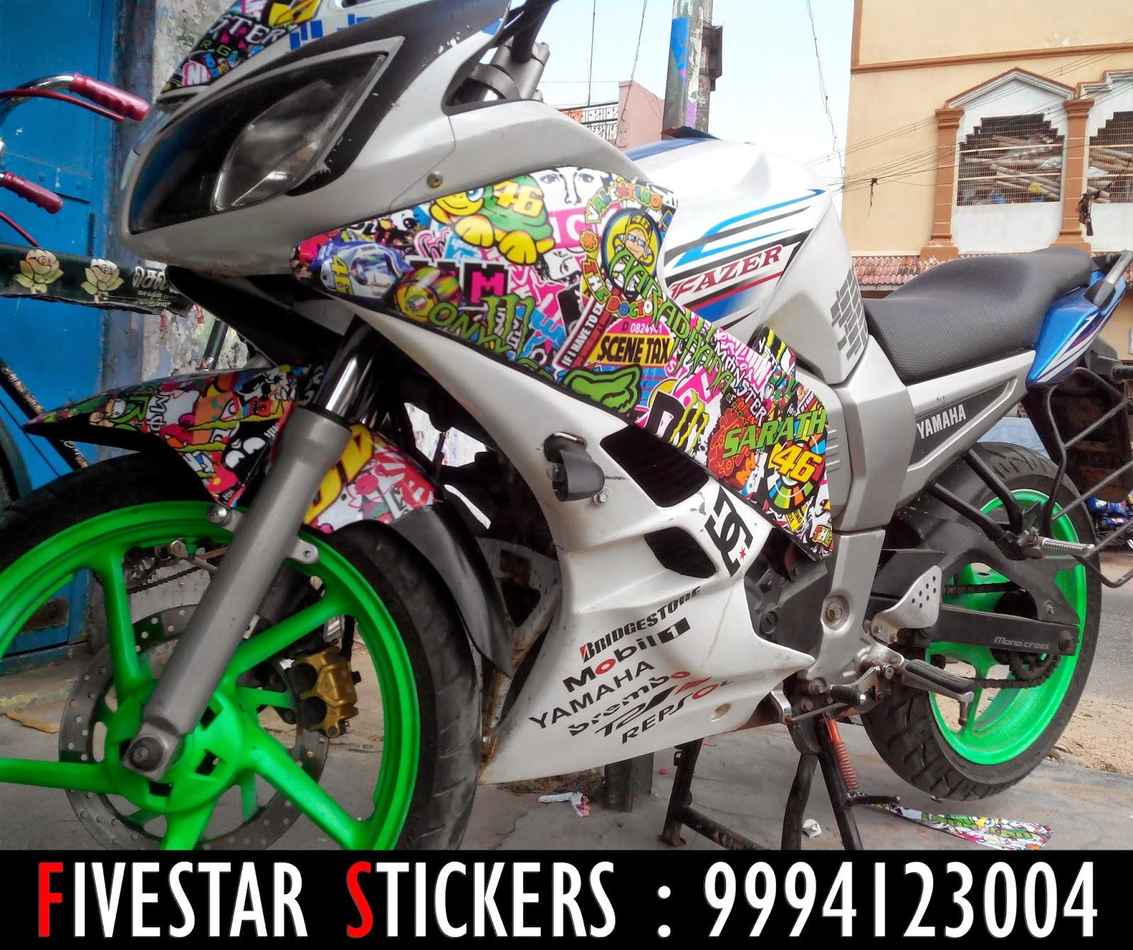 Yamaha bike sticker designs - Yamaha Bike Sticker Designs 6
