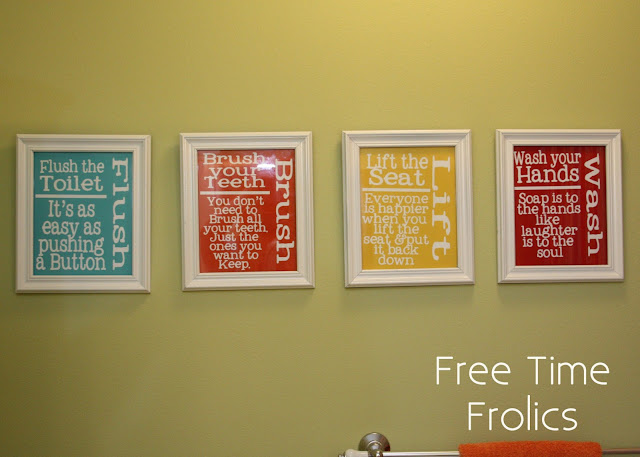 Bathroom Art Printables