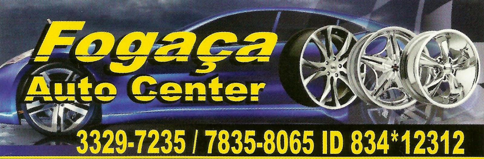 Fogaça AUTO CENTER Av. Itavuvu, 51989 Jardim Maria Antônia Prado Sorocaba - SP e-mail: fogaçaautocenter@gmail.com tel: (15) 3329-7235 Nextel:(15) 7835-8065 / ID 834*12312