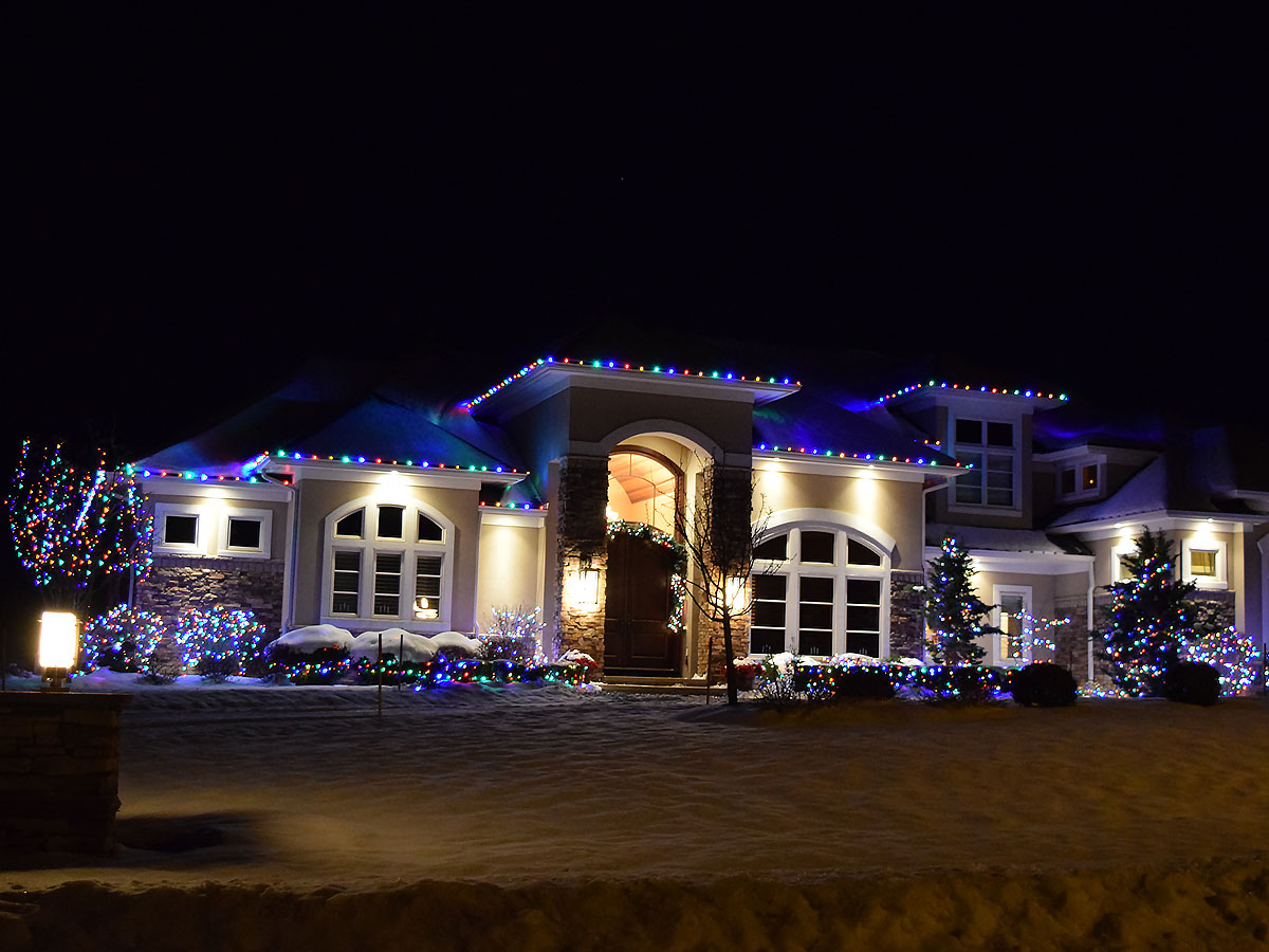 Rochester Ny Christmas Lights Installation By Majestic