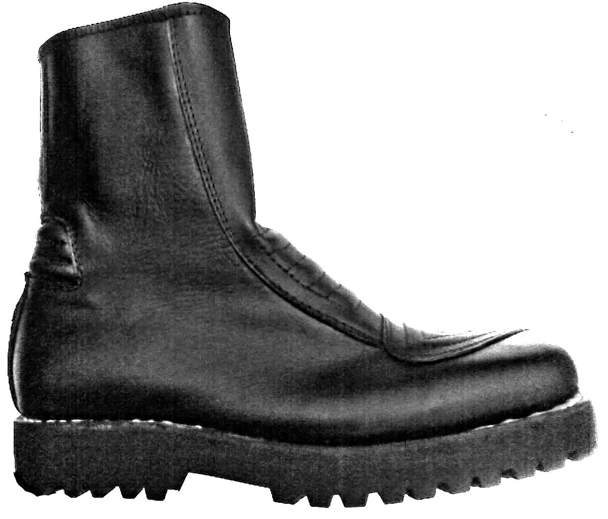 Sepatu Touring Kulit Standar