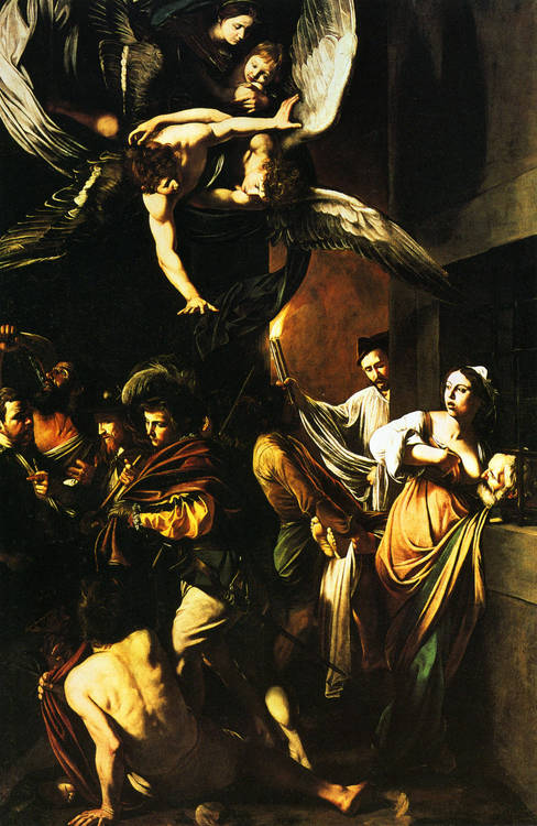caravage miséricorde painting