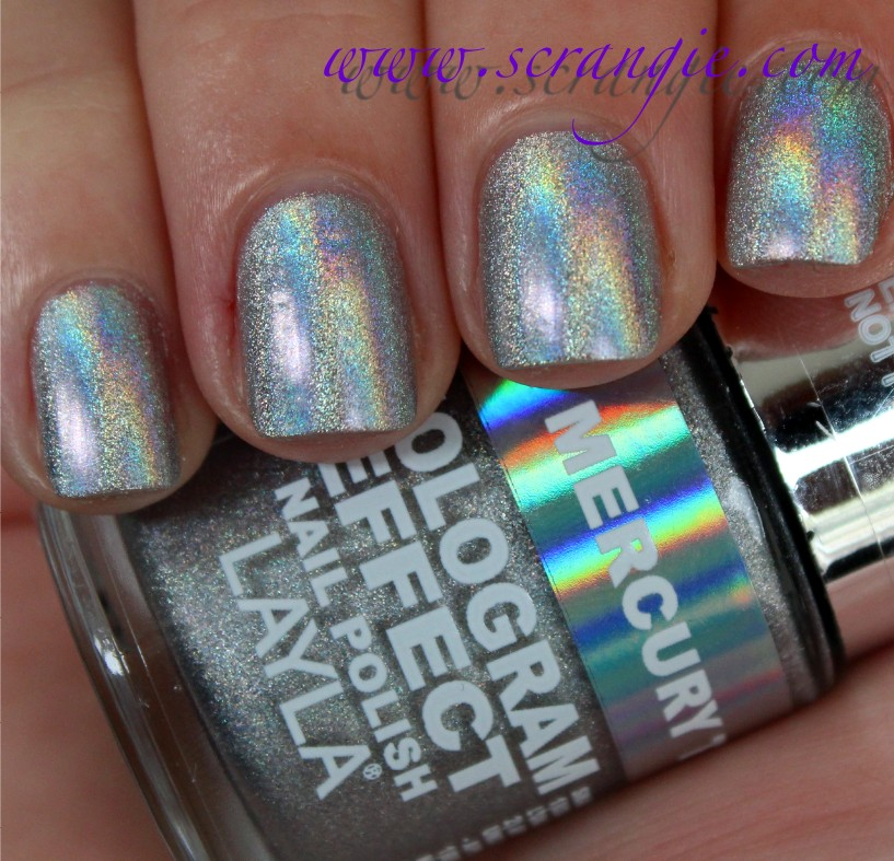 Layla Hologram Effect Nail Polish In 01 Mercury Twilight This Is The Requisite Silver Every Collection Needs One Especially Nice