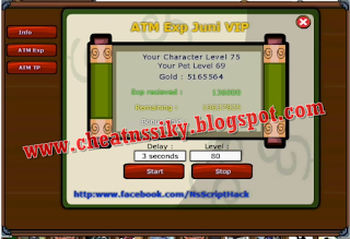 New ATM EXP NINJA SAGA JUNI 2013