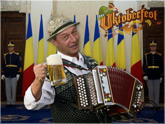 Oktoberfest funny – Traian Băsescu Conferinţă de presă