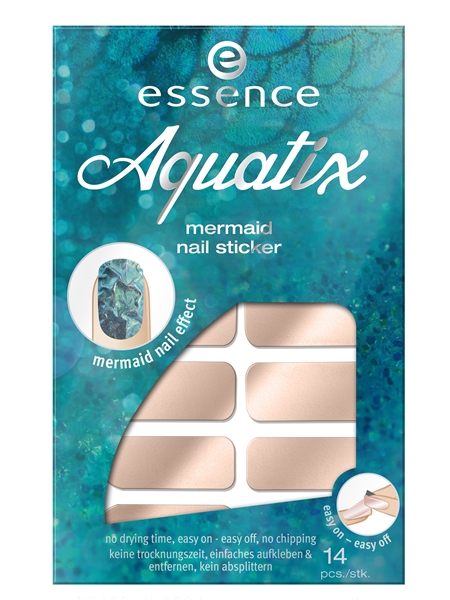 Essence Aquatix Mermaid Nail Stickers