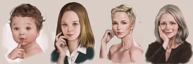 Evolução da mulher por Stonehouse