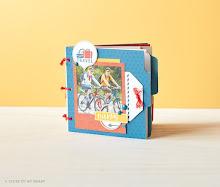 June Stamp of the Month Mini Album