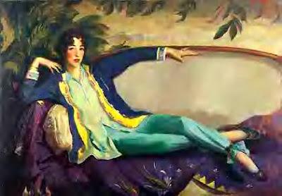 Henri, ritratto di Gertrude Vanderbilt
