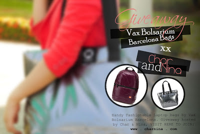 BIG GIVEAWAY: Vax Bolsarium Barcelona Laptop Bags