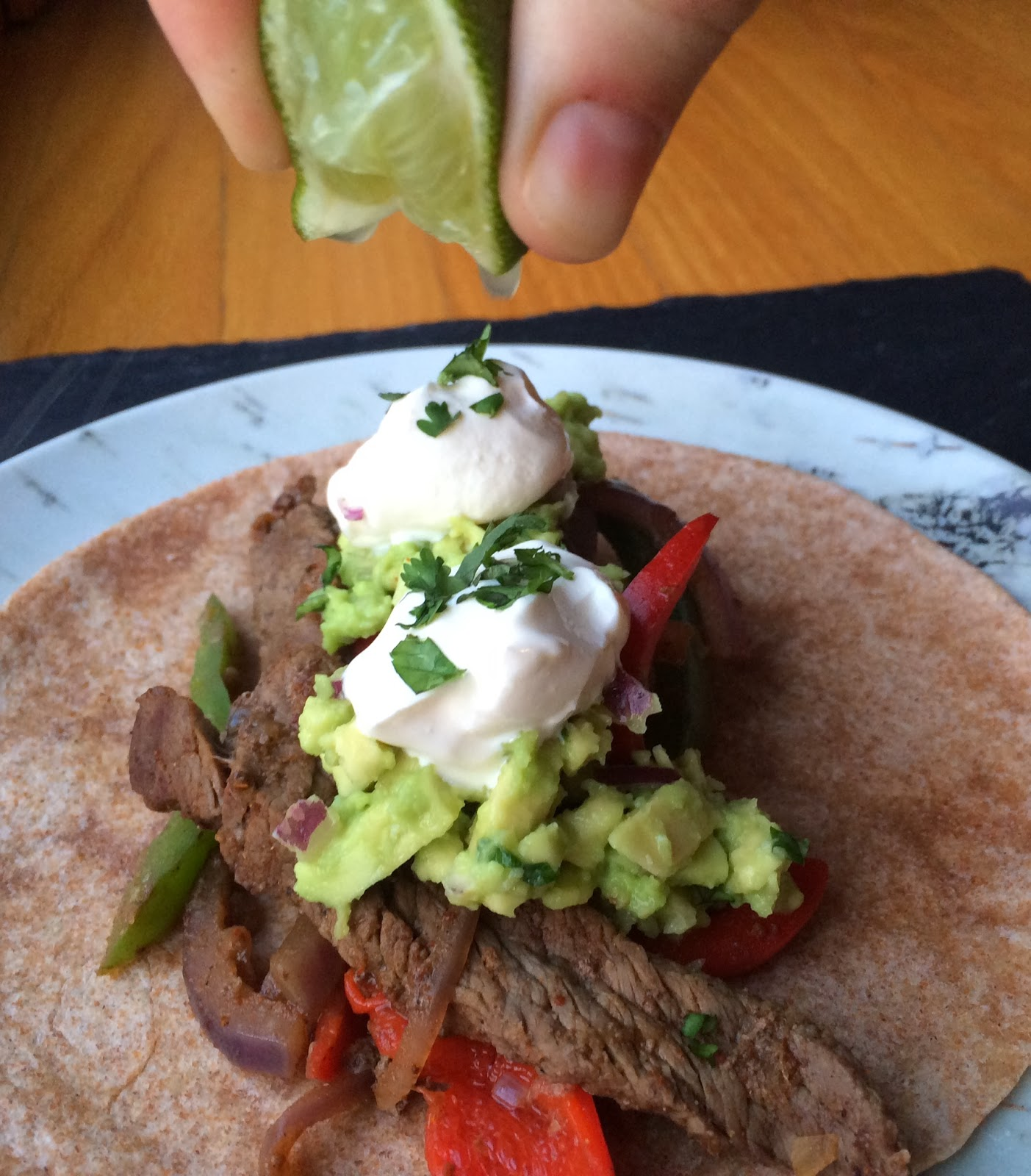 Top Ate on Your Plate Blue Apron Review: Steak Fajitas