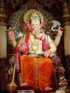 Lalbaughcha Raja Ganesha image