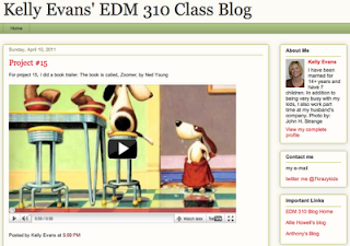 kelly Evans' Blog MAsthead