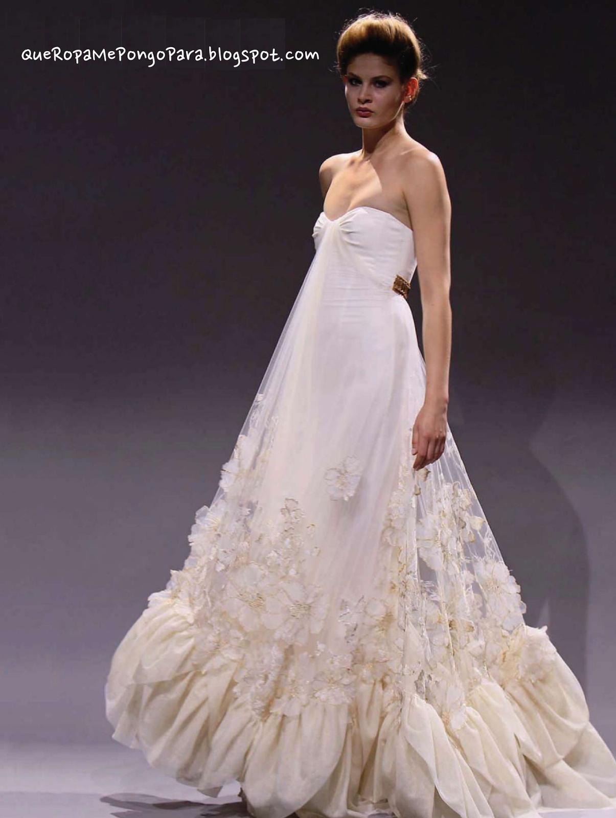 TIPS MATRIMONIALES Ideas para un vestido de boda