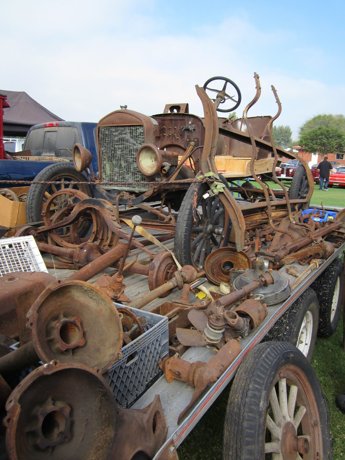 Covering Classic Cars : Model A Swap Meet and Super Car Sunday