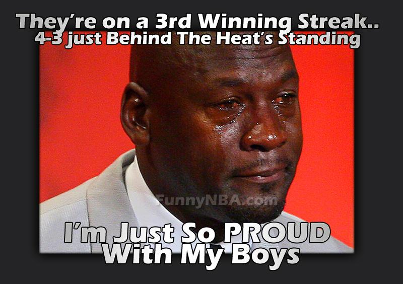 Funniest Jordan Meme : Charlotte bobcats winning streak nba funny moments