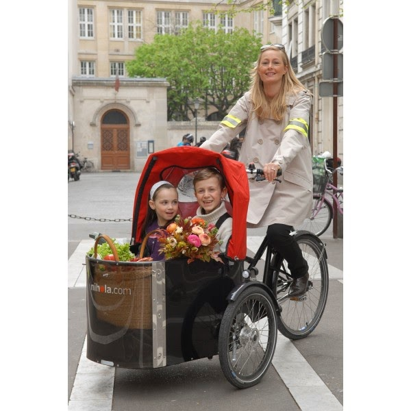 velo enfant transport inhala