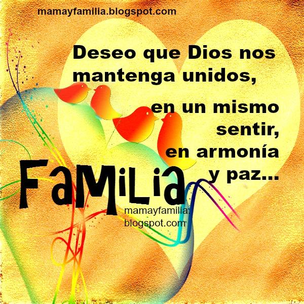 Frases para mi familia, mensajes bonitos cristianos para mi familia, hijos, hermanos, padres, sobrinos, tíos, pareja, esposo.
