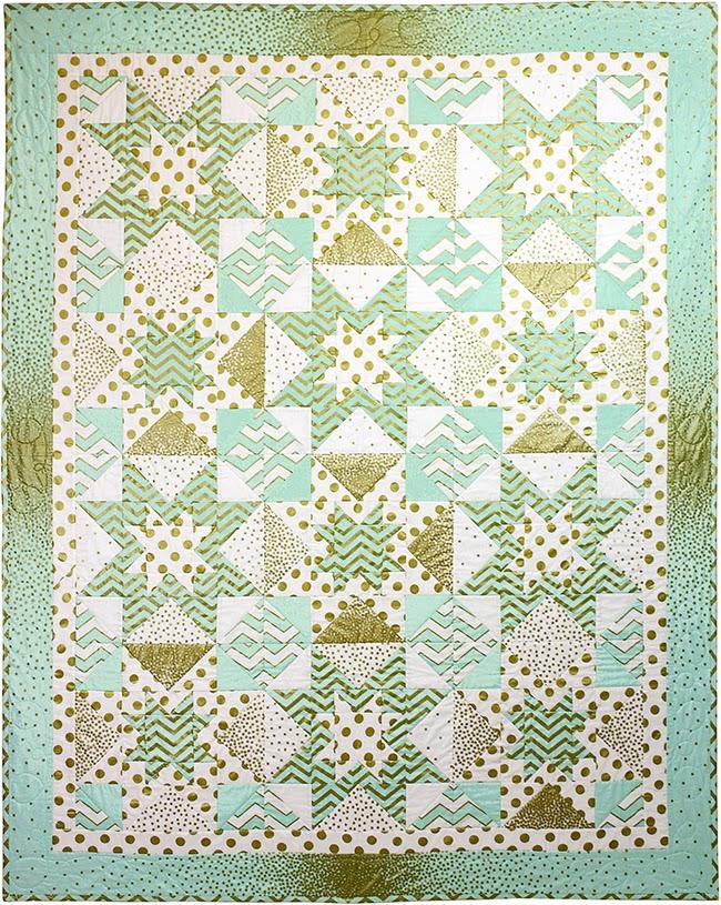 http://www.michaelmillerfabrics.com/inspiration/freequiltpatterns/glitz-mist-quilt-1.html