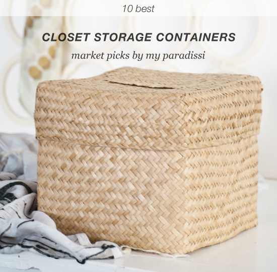 Closet storage containers market picks at www.myparadissi.com