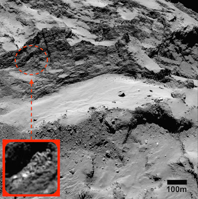 Huge Alien Body Found On Rosetta Comet 2015, UFO Sightings