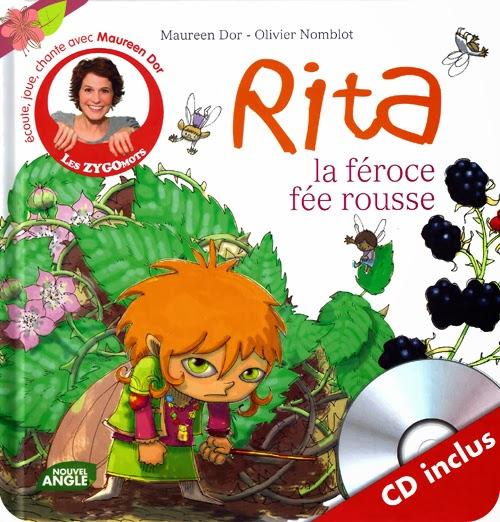 Rita la féroce fée rousse de Maureen Dor et Olivier Nomblot