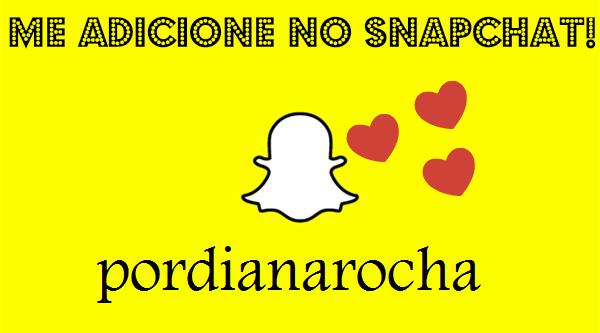 Meu Snapchat