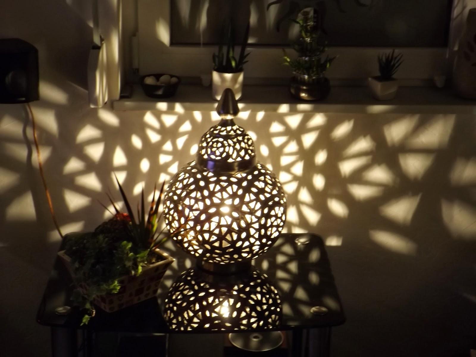 Alix Landhaus - Country Living Orientalische Tischlampe Marrakesch ...