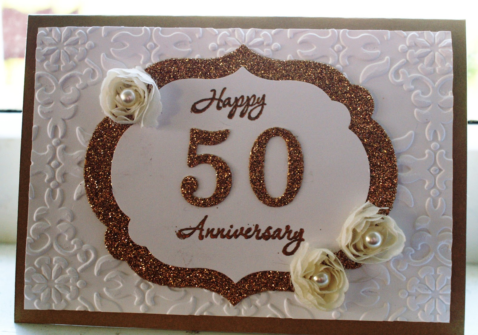 card making ideas for 50th wedding anniversary