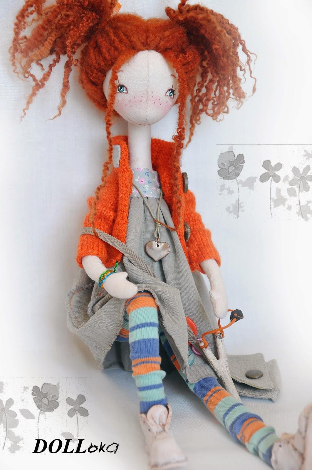 кукла текстильная хендмейд