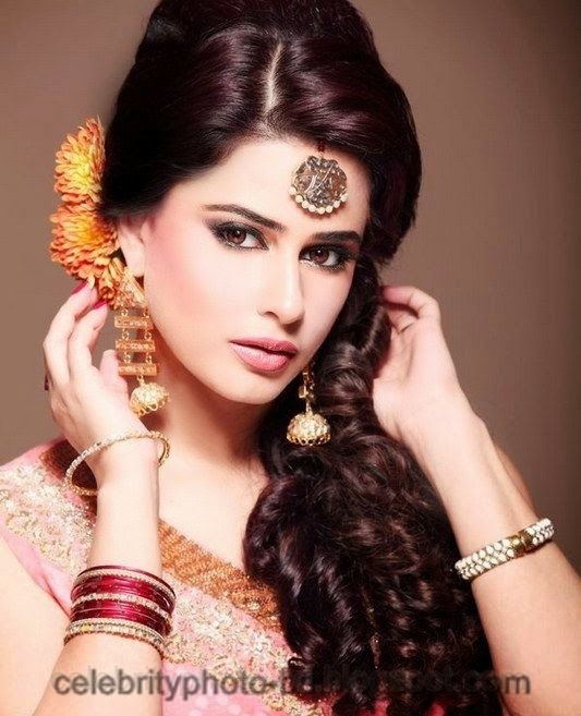 Pakistani+Wedding+Hairstyles+For+Bride+Girls+Photos+2014005