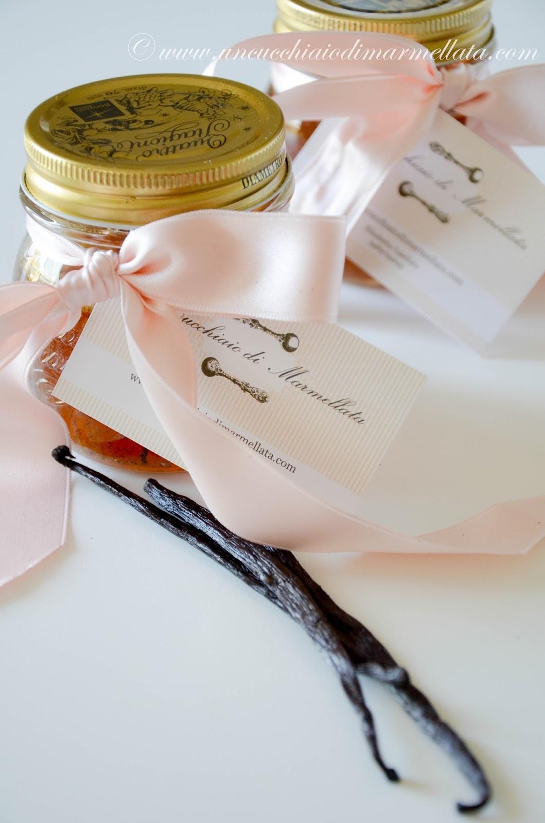 miele aromatizzato alla vaniglia