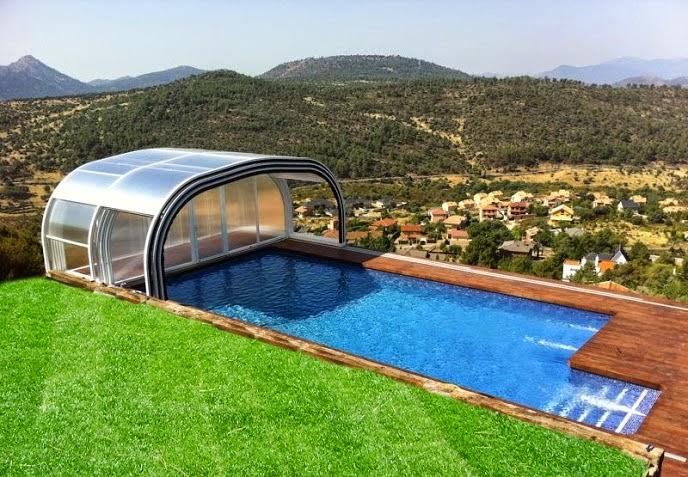 Cubierta nave industrial de madrid instaladores panel for Cubierta piscina precio