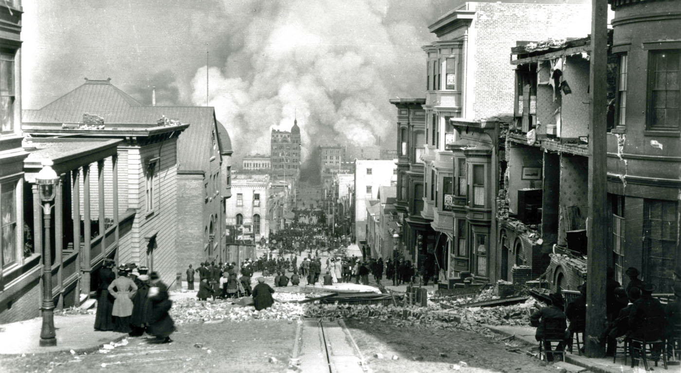 earthquake san francisco 1906 The san francisco earthquake of 1906 was a major earthquake that struck san francisco and the coast of northern california at 5:12am on wednesday, april 18, 1906.